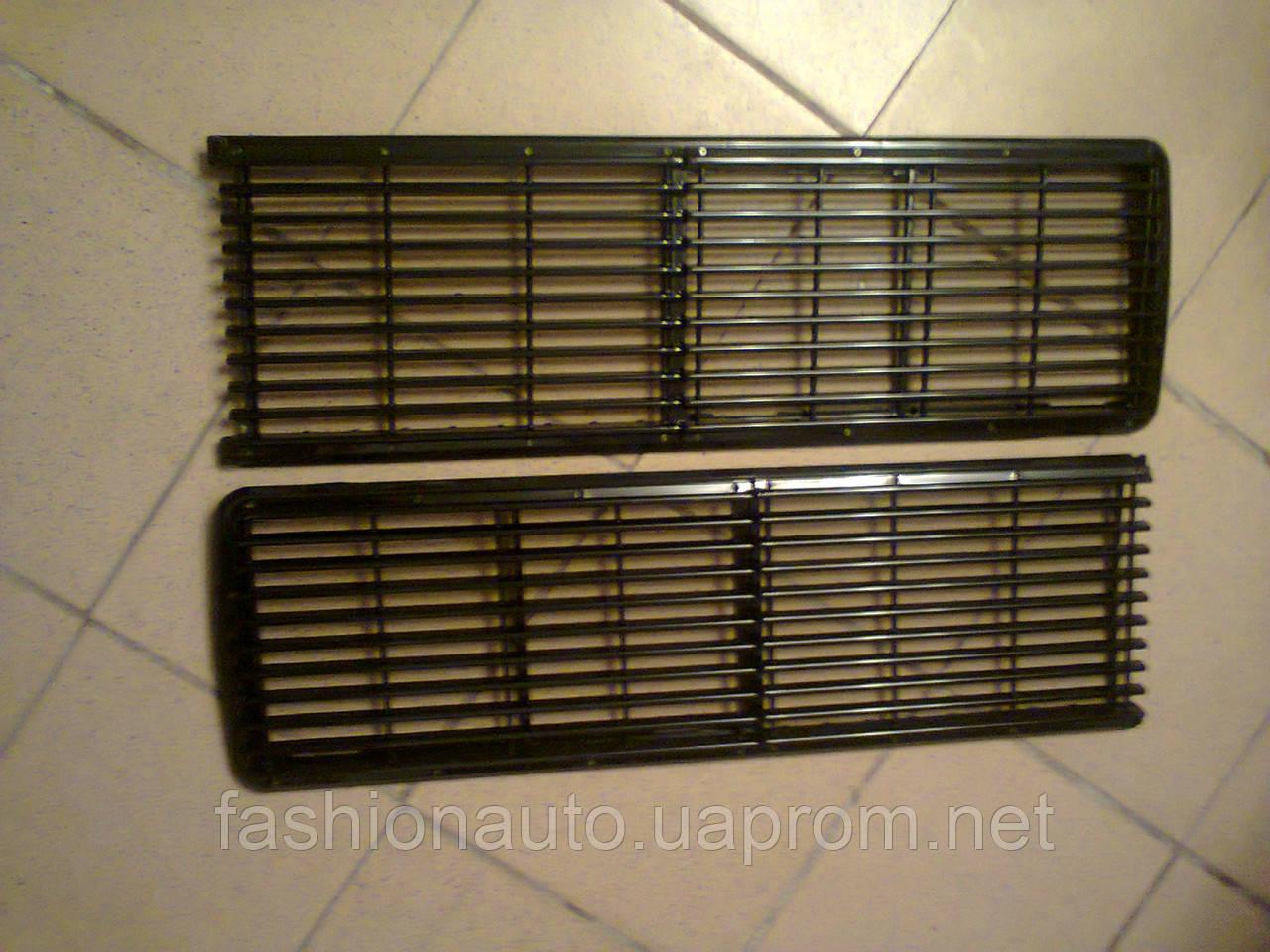 Решетка радиатора 2106  сплошная закрытая