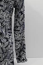 Женская рубашка-туника с длинным рукавом штапель оптом в Украине, фото 3