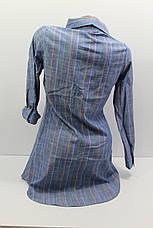 Женская рубашка-туника с длинным рукавом оптом в Хмельницком, фото 2