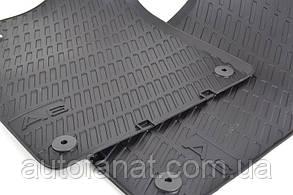 Комплект оригинальных коврики салона Audi A6 (C6) резиновые
