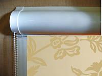 Ролеты тканевые (рулонные шторы) Gloss Besta uni закрытый короб, фото 1