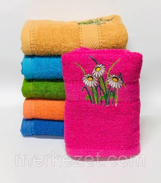"Полотенца для лица. Махровое полотенце ""Румберия"". Полотенца для лица, рук или ног"