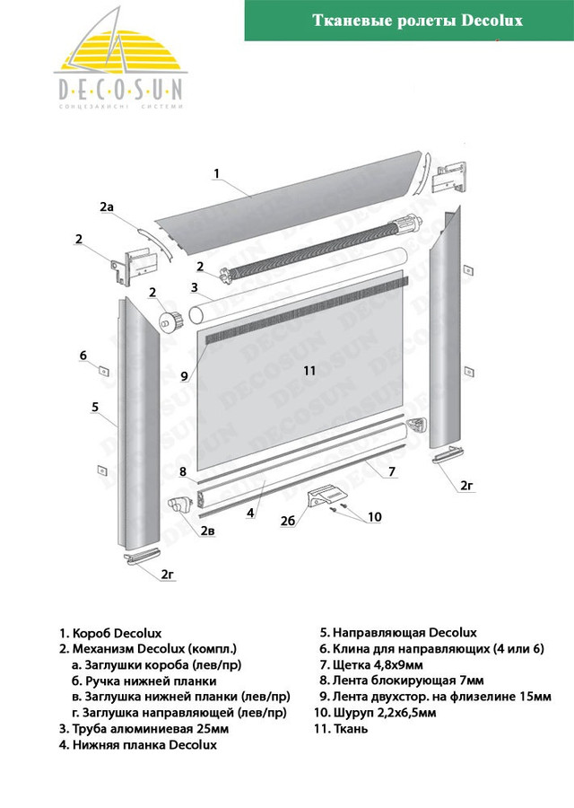 рулонная штора для мансардных окон