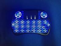 Беспроводная мини клавиатура RT-MWK08 wireless i8 с тачпадом LED (Blue), фото 1