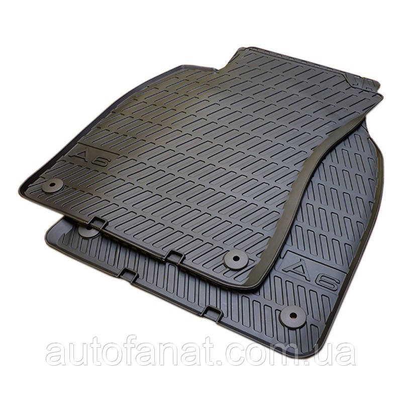 Оригинальные передние коврики салона Audi A6 (C6) (4F1061501041)