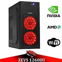 Ігровий Мега Монстр ПК ZEVS PC12600U RYZEN 2600 + GTX 1060 3GB +8GB DDR4