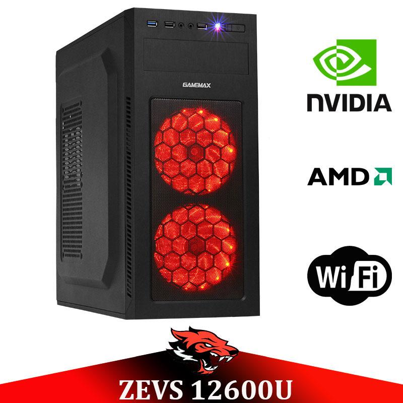 Игровой Мега Монстр ПК ZEVS PC12600U RYZEN 1600 + GTX 1060 3GB +8GB DDR4