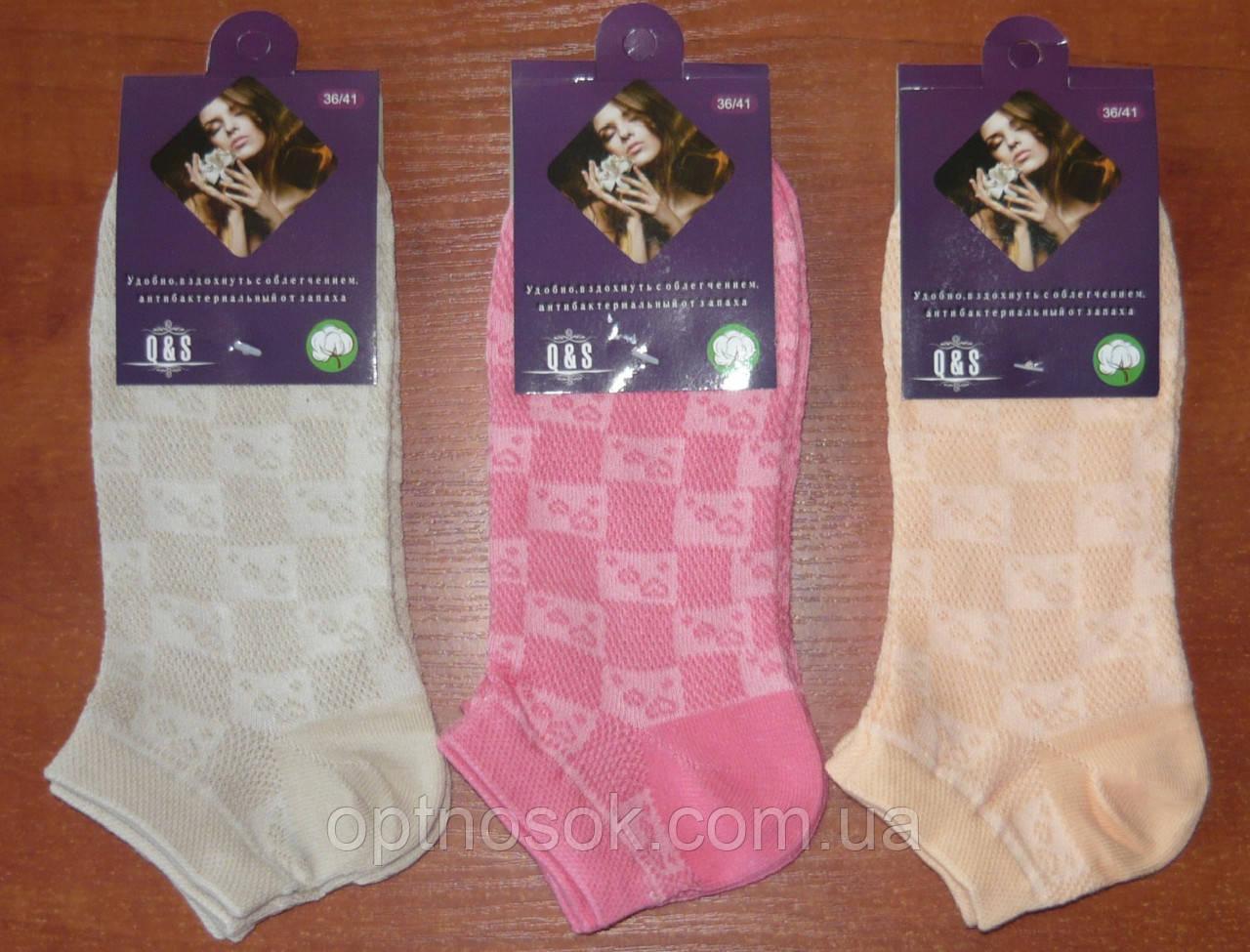 Сетка. Женские носки. Короткие. р. 36-41