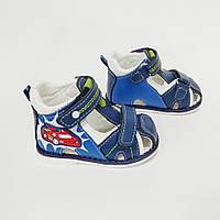 Кожаные сандалеты Том.М на мальчика синие (р.22)