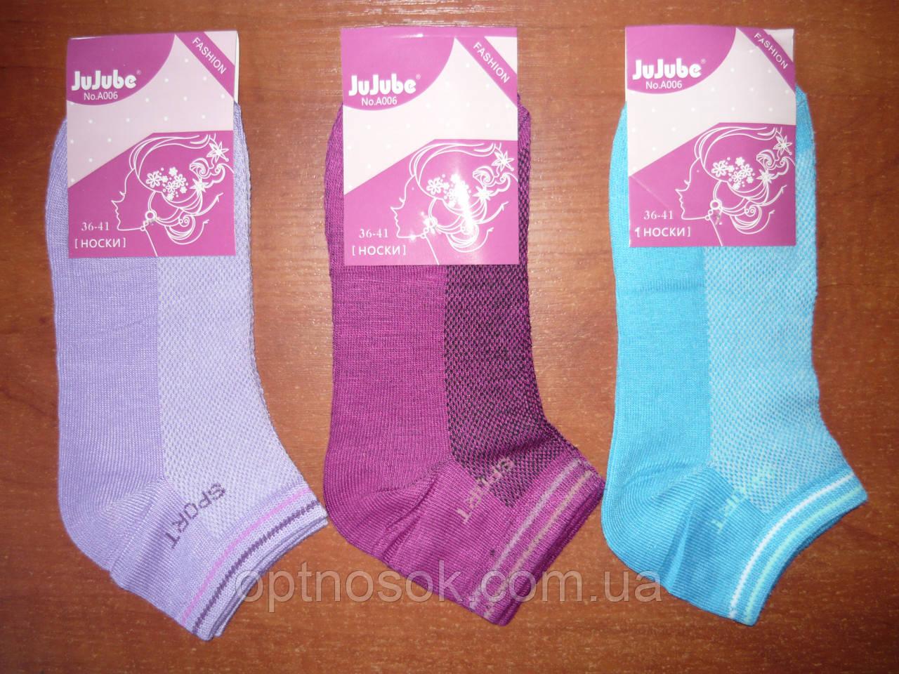 """Сетка. Женские носки """"Jujube"""". Короткие. р. 36-41"""