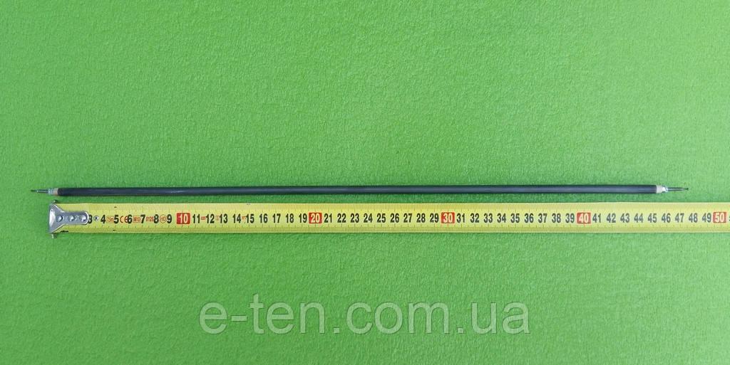 Тен прямий для електродуховок 500W / напруга 110V / довжина L=450мм (різьба по краях) Туреччина