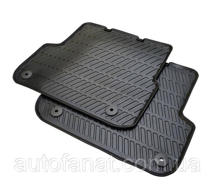 Оригинальные задние коврики салона Audi A6 (C6) (4F0061511A041)