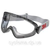 3M™ 2890S - Закрытые защитные очки с поликарбонатными линзами, герметичные, прозрачные