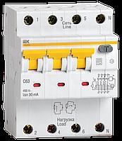 Автоматический  выключатель дифференциального тока АВДТ34 C16  30мА