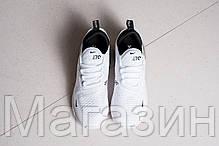 Женские кроссовки Nike Air Max 270 White (Найк Аир Макс 270) белые, фото 3