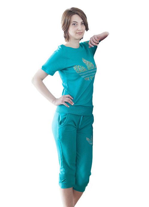 Спортивный костюм Oscar Fur СК-12  бирюзовый