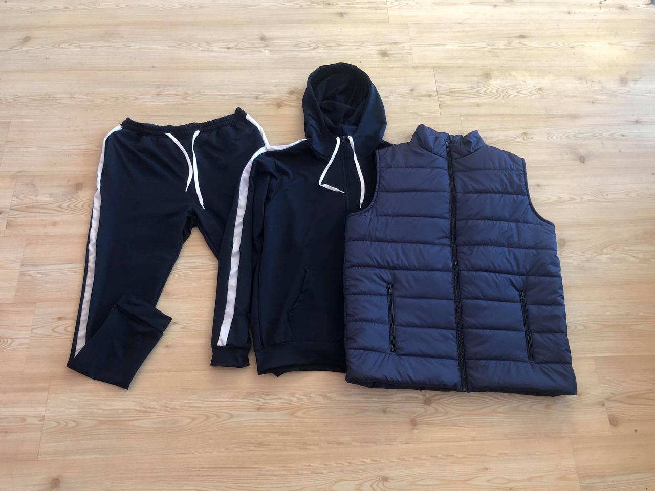 Спортивный костюм +спортивная жилетка