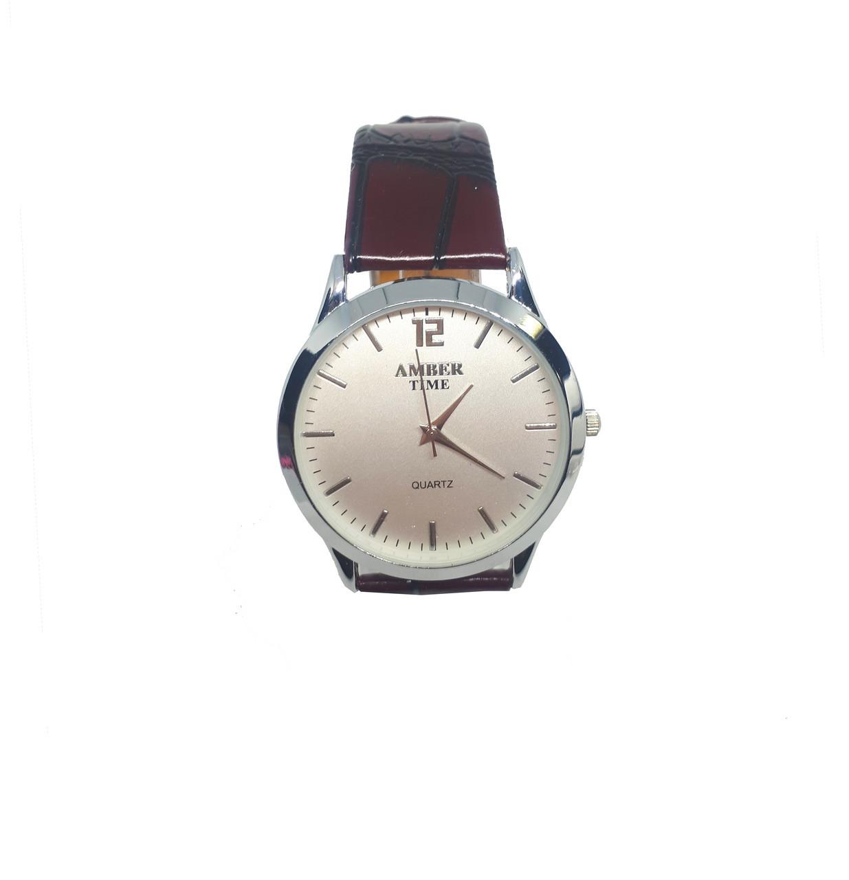 Часы мужские  кварцевые Amber