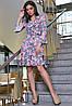 Платье 12-1114 - серый: S M L XL