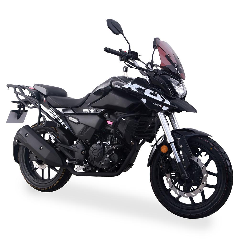 Мотоцикл Lifan KPT200 (Lf200-10L) Черный