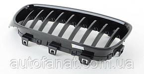 Оригинальная решетка радиатора черная левая M Performance BMW 3 (F34 GT) (51712410147)
