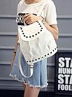 Рюкзак женский PU кожзам. с фурнитурой 29 см - 25 см. - 14 см., фото 4