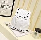 Рюкзак женский PU кожзам. с фурнитурой 29 см - 25 см. - 14 см., фото 9
