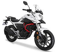 Мотоцикл Lifan KPT200 (Lf200-10L) Білий, фото 1