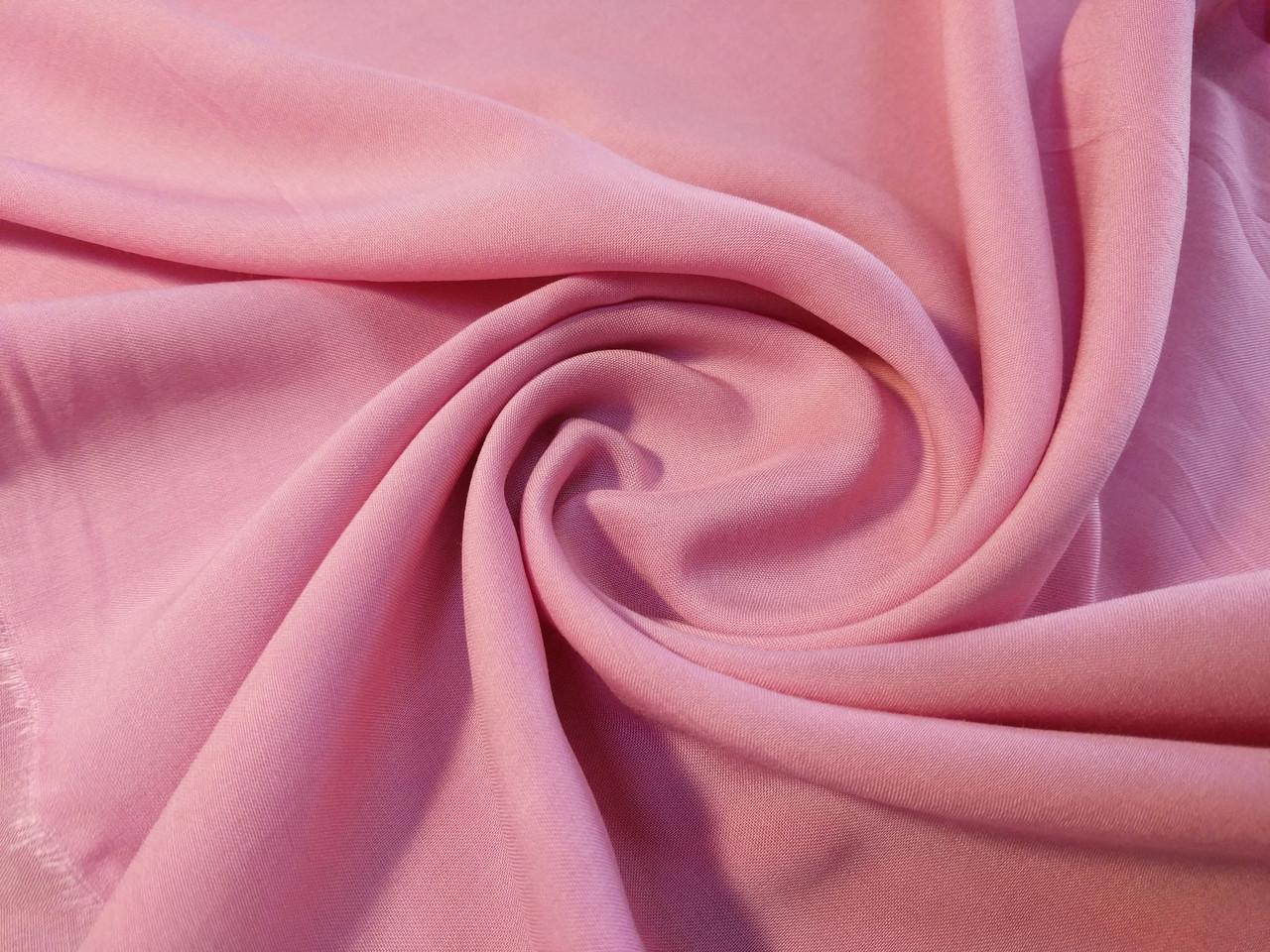Штапель, бледно-розовый