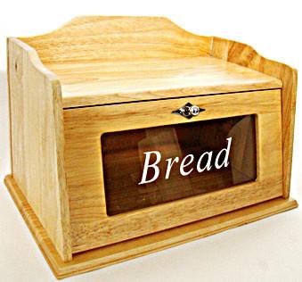 Оригинальная хлебница ручной работы со стеклом