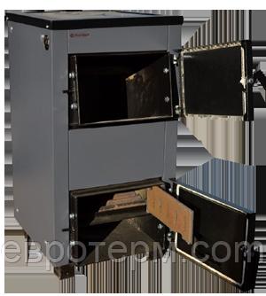 Твердотопливный котёл Protech ТТ 18 кВт с варочной поверхностью (чугунные колосники)