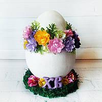 Большое яйцо  на пасху Пасхальный декор и пасхальные сувениры Ручная работа