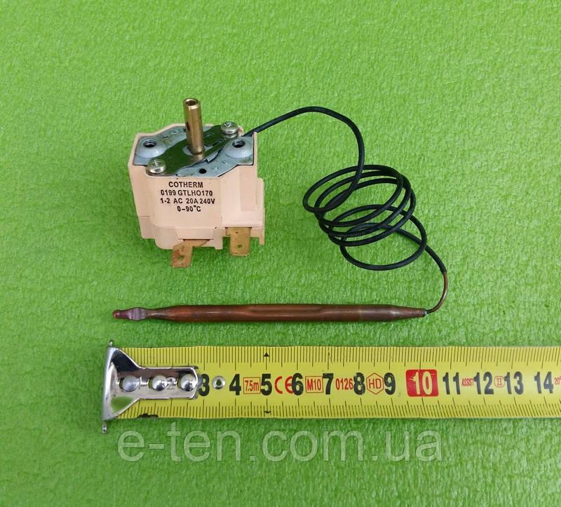 Терморегулятор капілярний COTHERM GTLHO170 / 20А / 240V / T=0-90°C для бойлерів Termal,Atlantic Китай