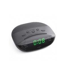 Часы сетевые 908-4, радио FM (салатовые,)