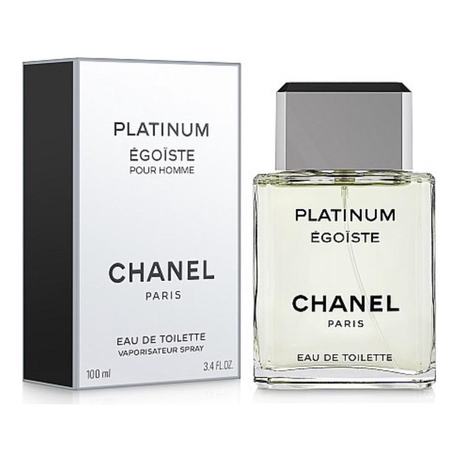 Французские духи CHANEL Egoiste Platinum 100ml восхитительный аромат для мужчин, древесно-цветочный мускусный