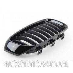 Оригинальная решетка радиатора черная правая M Performance BMW 3 (F34 GT) (51712410146)