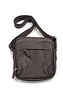 Повседневная мужская сумка через плечо из натуральной кожи