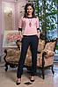 Красивый женский брючный костюм 42-44, 44-46, фото 2