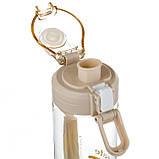 """Бутылка для спорта """"Вдохновение"""" (550 мл) пищевой пластик 047JH, фото 3"""