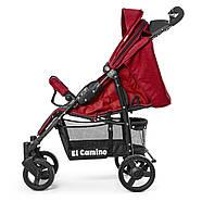 Дитяча прогулянкова коляска-книжка El Camino ME 1015L AMULET Deep Red, фото 5