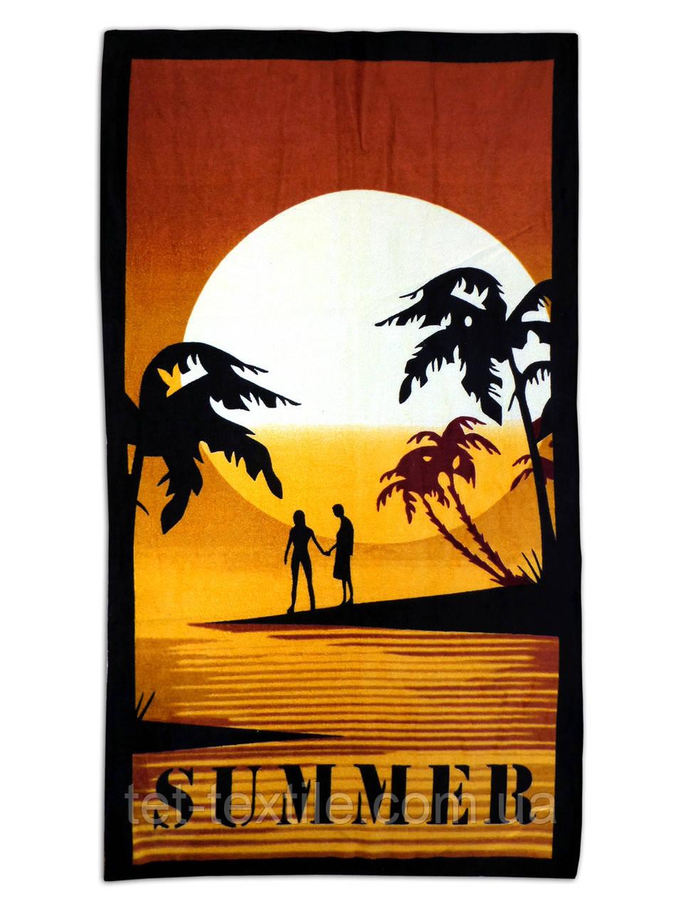 """Пляжное полотенце """"Summer"""" 70х140см."""