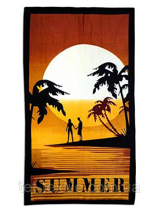 "Пляжное полотенце ""Summer"" 70х140см., фото 2"
