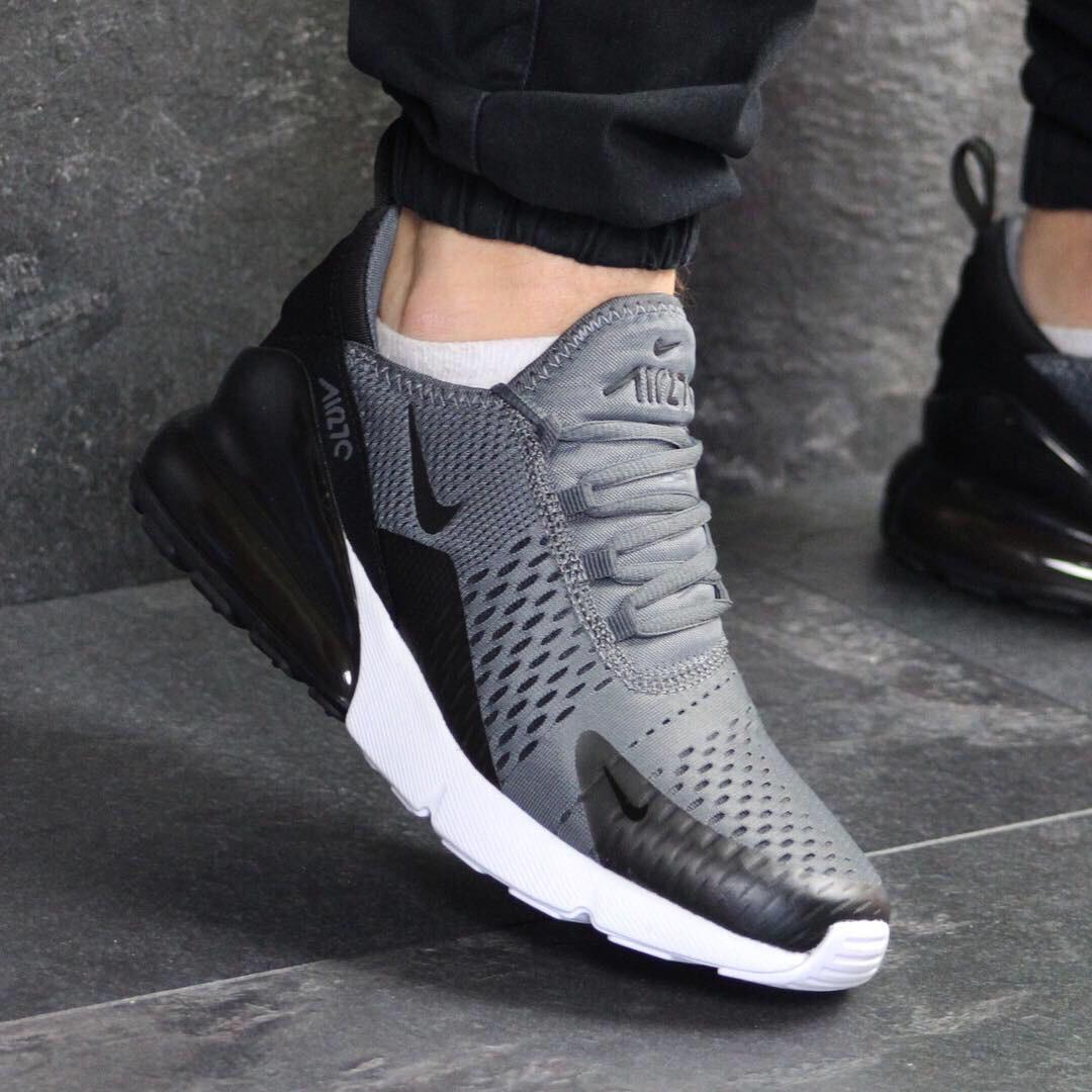 40397188 Мужские кроссовки Nike 7643 темно Серые демисезонные купить дёшево -  Интернет-магазин