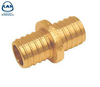 KAN-therm соединитель латунный двухсторонний Push 18х2,0 /14х2,0 мм, 9006.060R