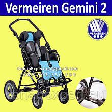 Коляска для детей с ДЦП Vermeiren Gemini 2 Special Needs Stroller 40cm до 50кг