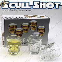 """Набір чарок - """"Scull Shot"""" - 6 шт., фото 1"""