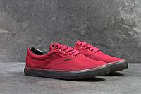 Мужские мокасины в стиле Vigo, бордовые 40 (25,5 см)