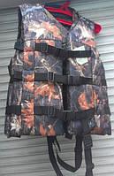 Жилет спасательный с воротником для людей весом до 80 кг