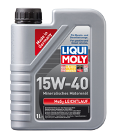 Моторное масло LIQUI MOLY SAE 15W-40 MoS2-LEICHTLAUF  1л