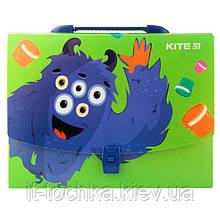 Школьный портфель-коробка А4 kite k19-209 jolliers